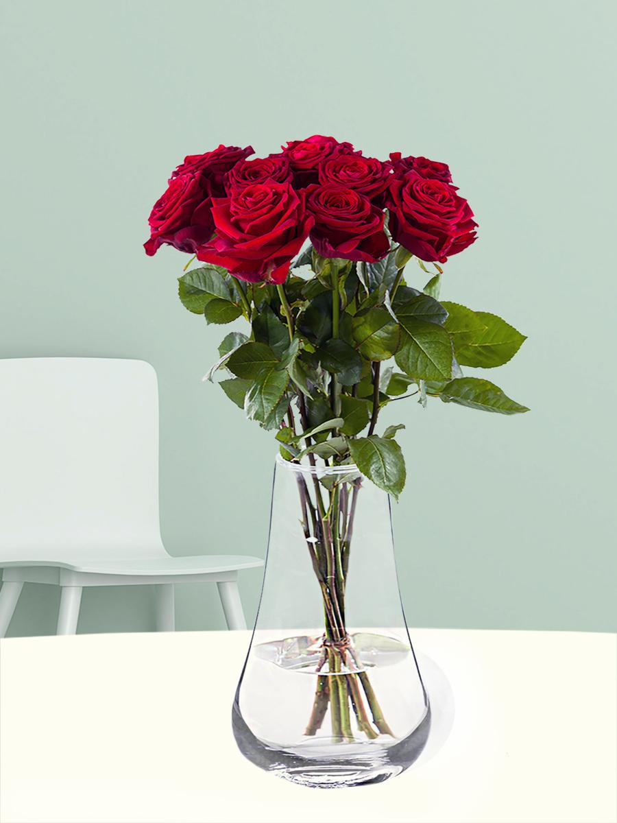 10 rode rozen - Red Naomi