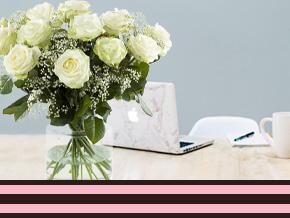 zakelijk bloemen bestellen op rekening