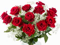 Bruidsboeket rode rozen bestellen