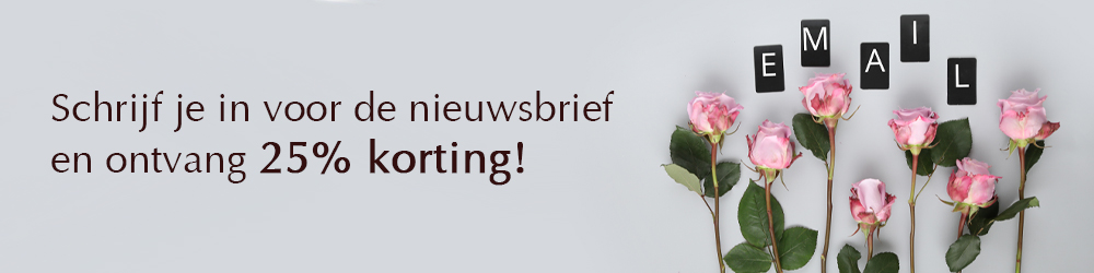 Schrijf je in voor de nieuwsbrief van Surprose
