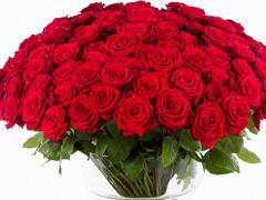 Boeket rode rozen bestellen