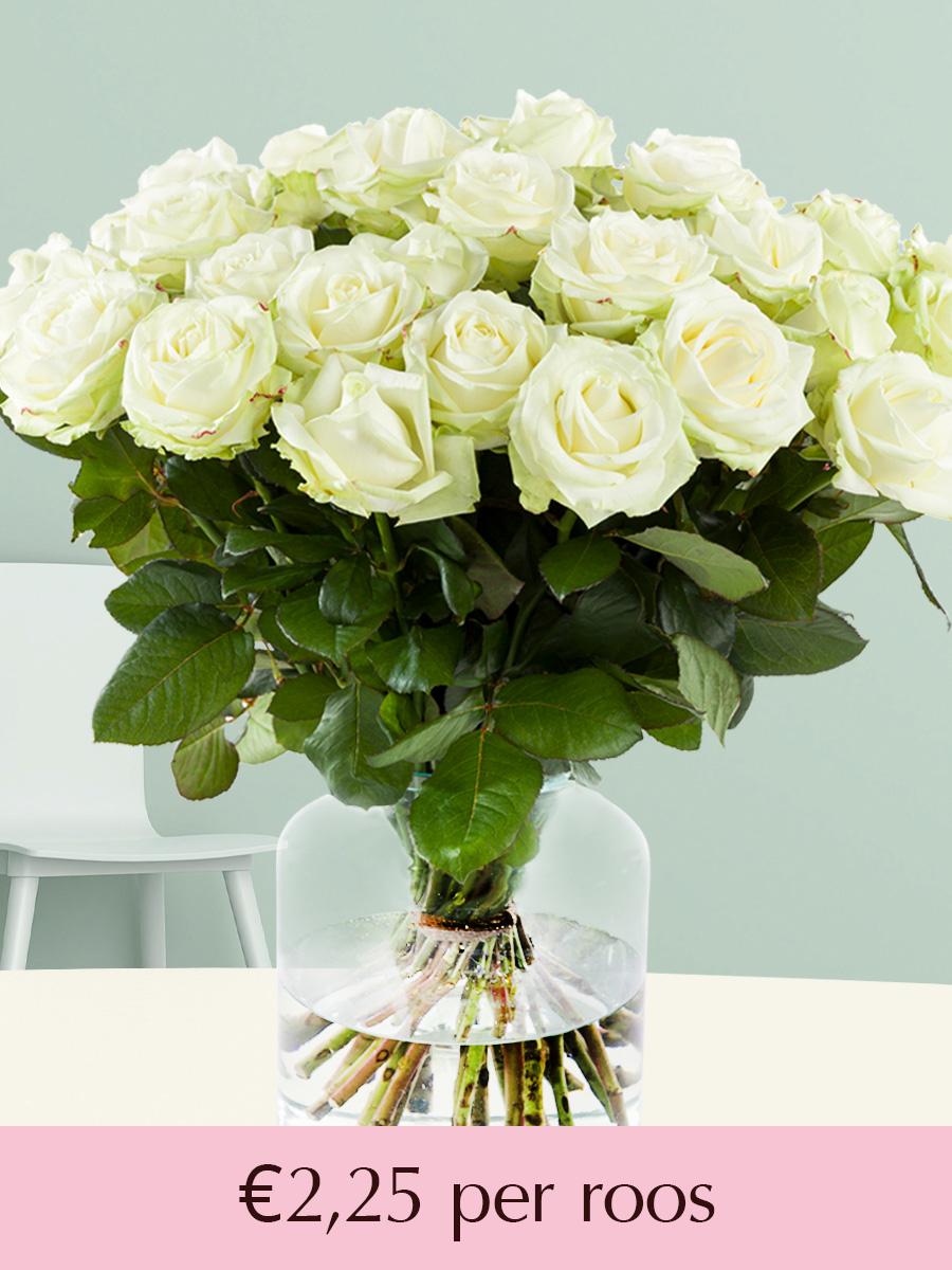 Kies je eigen aantal rozen bezorgen