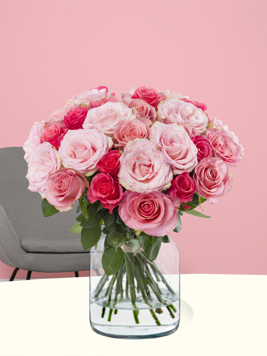 Zoete mix rozen